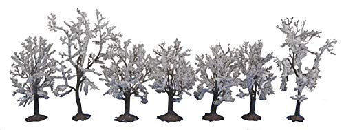 Walthers SceneMaster Snow Trees (7 per Train) ()