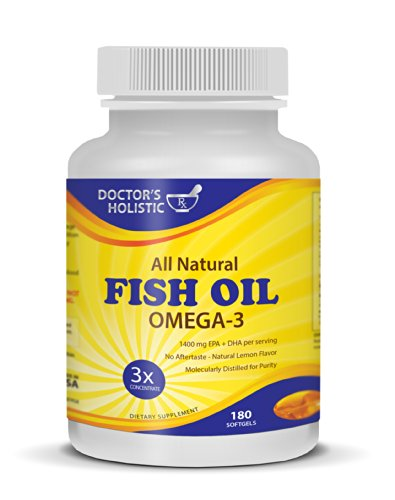 Doctor's Holistic Rx Pharmaceutical Grade All Natural Fish O