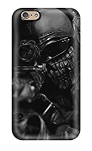 Bumper Hard Phone Cases For Iphone 6 With Custom Colorful Call Of Duty Ghosts Pattern PhilHolmes