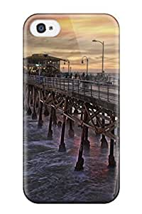 Fashion Protective Locations Santa Monica Case Cover For Iphone 4/4s