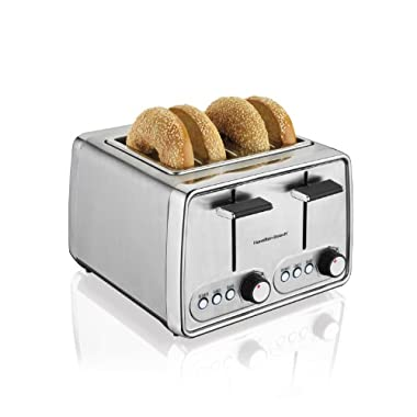 Hamilton Beach 24791 Modern Chrome 4-Slice Toaster