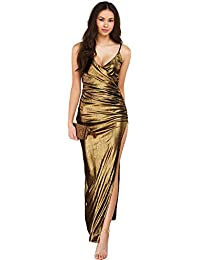 Women Glam Shiny Long Prom Banquet Evening Dresses Party Long Gown