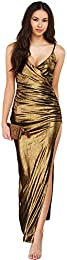 Amazon.com: Gold - Special Occasion / Dresses: Clothing- Shoes ...