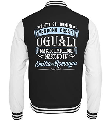 Emilia Italia bianco Solo Uguali College Uomini Sudore Creati In Getto Gli Giacca I Vengono Tutti Nero Ebenblatt Nascono romagna Migliori Ma 0X67R7