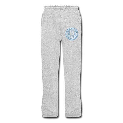 Men's Unc Chapel Hill LOGO Sport Sweatpants With Pockets XXL Ash By -