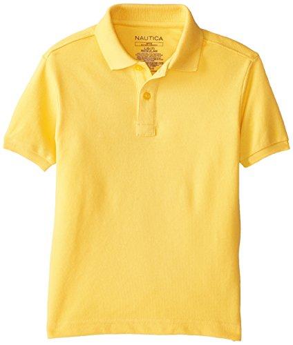Nautica Uniform Short Sleeve Pique