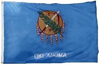 product image for Oklahoma Flag 12X18 Inch Nylon
