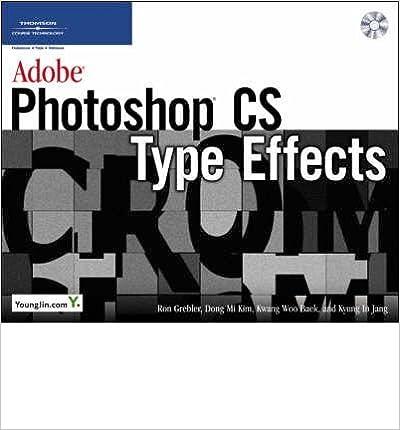 Book Adobe Photoshop CS Type Effects