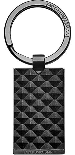 Emporio Armani Men's Key Ring EGS2410060 with Gift Box