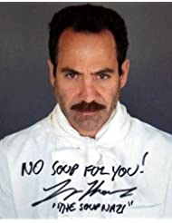 Soup Nazi autographed 8x10 Photo (Signed by the Actor Larry Thomas from Seinfeld)
