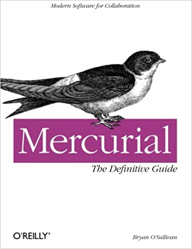 Mercurial: The Definitive Guide book cover
