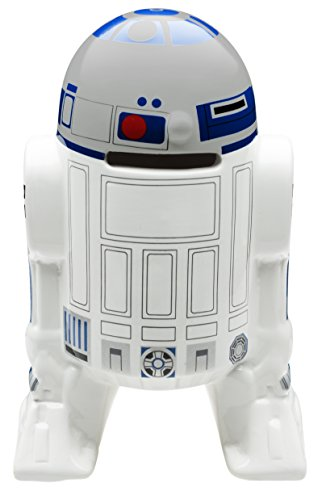 Zak! Designs Coin Bank, Classic Star Wars R2D2, Save Money in this Sculpted Ceramic Star Wars Collectible Bank