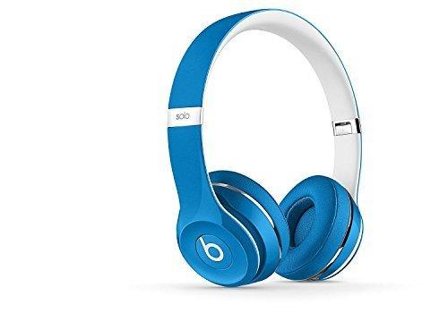 Beats Solo2 On-Ear Headphone Luxe Edition (WIRED, Not Wireless) (Renewed) - Blue (Beats By Dr Dre Solo2 On Ear Headphones)