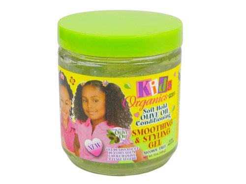 - Africa's Best Kids Organics Smooth and Style Gel, 15 Ounce