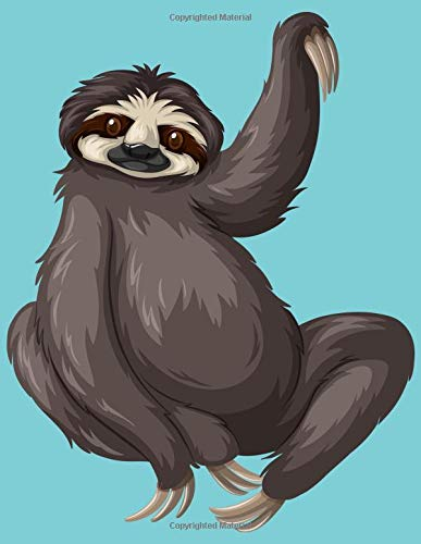 Sloth Waving Notebook: 2019 Weekly Planner with Note Paper Section]()