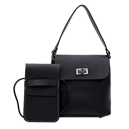 Décontracté Black Sac Sac Main Mode Unique Lady Noir Bandoulière De Divertissement New GWQGZ À À nY677U