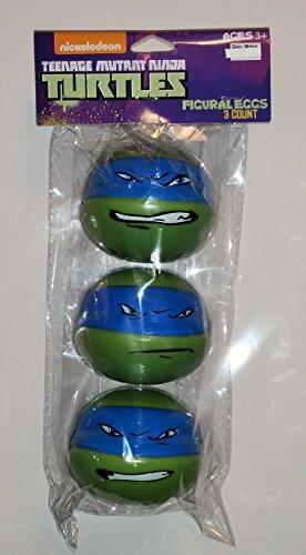 Nickelodeon Teenage Mutant Ninja Turtles Figural Eggs 3 count (Teenage Mutant Ninja Turtles Eggs compare prices)