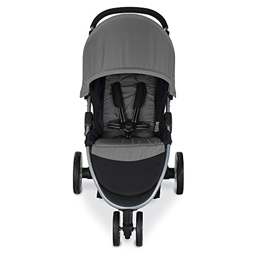 Image of the Britax 2017 B-Agile Lightweight Stroller, Steel
