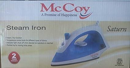 McCoy Saturn 1200W Dry Iron