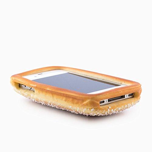 CASE COVER in SILICONE PER IPHONE 4G e 4S a forma di dolce con zucchero NOVITà!