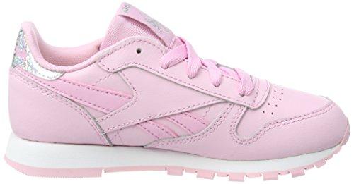Bambina Pink Classic Pastel Sneaker Leather Reebok white charming Rosa ZpfnSHSxw