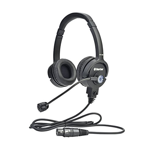 Clear-Com CC-220-X4 | Double On Ear 4 Pin Female XLR Cardioid Headset by Clear-Com