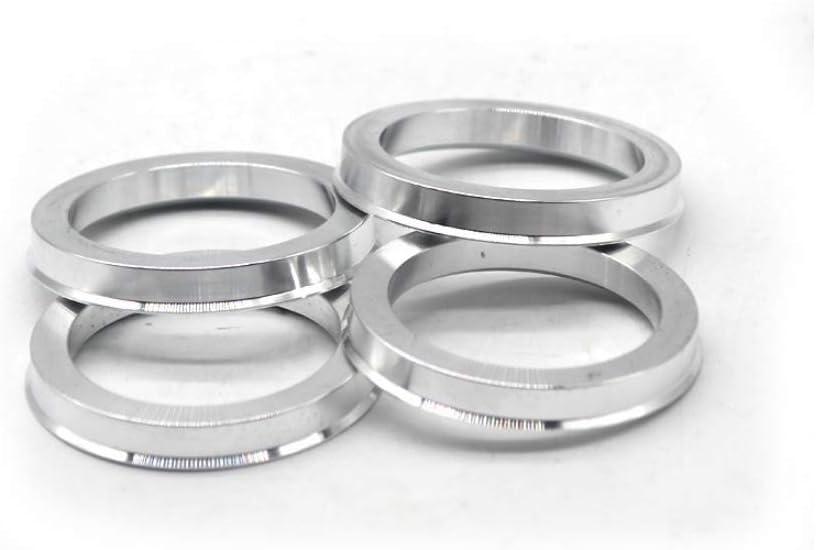 4pieces 65.1 to 54.1 Hub Centric Rings OD=65.1mm ID= 54.1mm Aluminium Wheel Hub Rings FINE MEN WYX-JIXIANQI