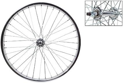 "36 HVY DTY SPOKES BICYCLE CP STEEL  WHEEL 20 X 1.75 1/"" WIDE  5 SPEED FREEWHEEL"