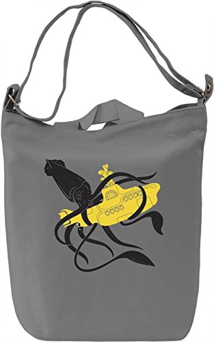 Squid Sub Battle Borsa Giornaliera Canvas Canvas Day Bag| 100% Premium Cotton Canvas| DTG Printing|