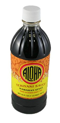 Aloha Teriyaki Sauce Hawaiian Style 24 oz. bottle