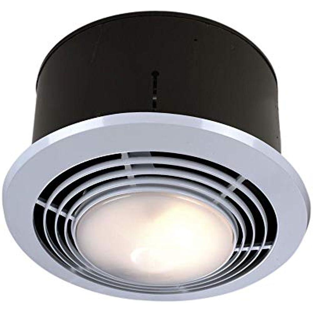 Broan-Nutone 9093WH Exhaust Fan, Heater, Light Combo