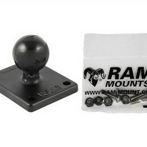 "RAM MOUNTS (RAM-B-347-G4U 2"" X 1.7"" Adapter Base with 1"" Ball for the Garmin Gpsmap 620 and 640"