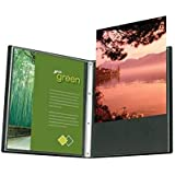Itoya Profolio Advantage Art Presentation Book 8.5x11 For Art, Photography, Document, and Archival Storage -- 24 PolyGlass Pages for 48 Inserts
