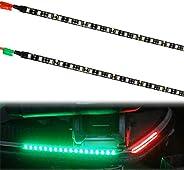 UCIN Boat Lights, LED Boat Bow navigation Lights for Marine Pontoon Kayak Yacht, 12V Power Light Strip Kit - R