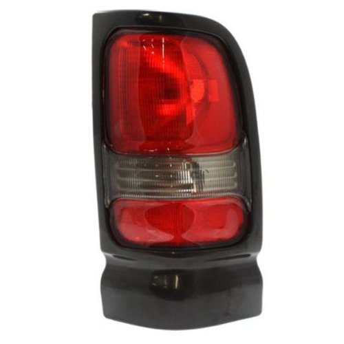 DODGE VAN/PU/SUV RAM PICK-UP (OLD TYPE) TAIL LIGHT RIGHT (PASSENGER SIDE)WITH SPORT(SMO/BLK) 1994-2002