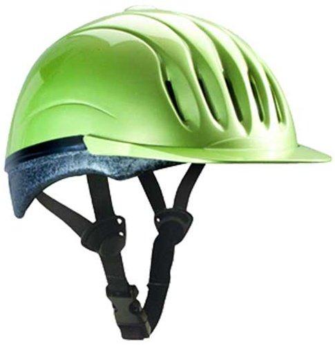 Ultra-Lite Equi-Lite Fashion Color Helmet with Dial-Fit-System, Citron, Large