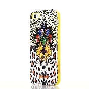 TY-Peacock patrón de la impresión suave caso de TPU anti-choque para el iPhone 5/5S (colores surtidos)