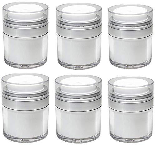 Airless Pump Bottle Refillable Air Pump Jars