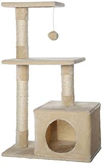 Dibea Kb00140 Kratzbaum Kletterbaum Für Katzen Höhe 65 Cm
