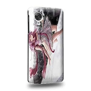 Case88 Premium Designs Guilty Crown GC Funeral Parlor Yuzuriha Inori 1202 Carcasa/Funda dura para el LG Nexus 5