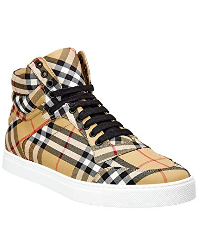 BURBERRY Canvas Sneaker, 40, Brown