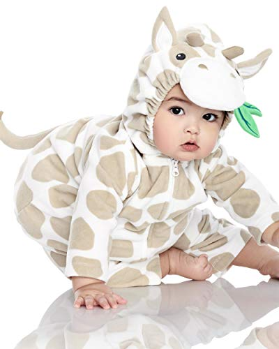 Carter's Halloween Costume, Baby Unisex, Little Giraffe, White Beige, 3-6 -