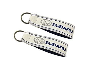 Moto Discovery Subaru cordón Llavero Doble Cara Blanco (1 ...