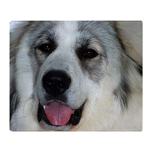 - CafePress Great Pyrenees Puppy Soft Fleece Throw Blanket, 50