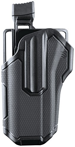 BLACKHAWK 419000BBR Omnivore MultiFit Holster, Right Hand, Black, One size ()
