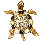 Jay Strongwater Turtle Tack Pin