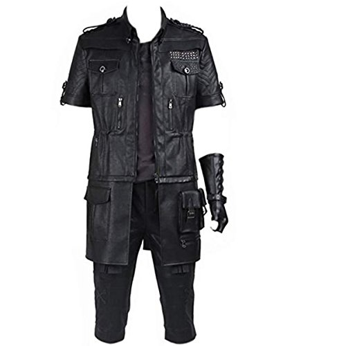 NSOKing Men's Outfit for Final Fantasy XV Noctis Lucis Caelum Cosplay Costume Outfit