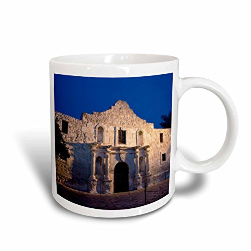 3dRose 3dRose The Alamo, San Antonio, Texas, USA - US44 BJN0003 - Brian Jannsen - Ceramic Mug, 11-ounce (mug_146612_1), , - Texas Outlets San Antonio