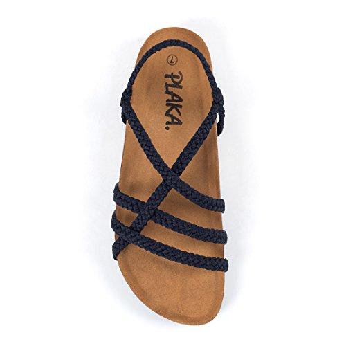 Plaka Comfort Sandals for Women Cozy