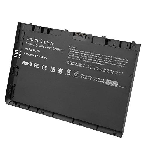 New BT04XL 14.8V 52WH Notebook Battery for HP EliteBook Folio 9470 9470M 9480m Ultrabook BT04 BA06 HSTNN-IB3Z HSTNN-I10C 687945-001 H4Q47AA 687517-241 HSTNN-DB3Z 687517-171 BA06XL H4Q48AA